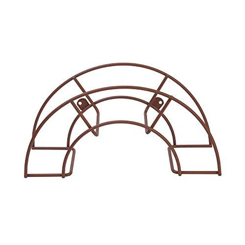 Sauvic 03320 - Support Tuyau Petit, 36,5 x 12,5 x 18,5 cm, Couleur Rouille