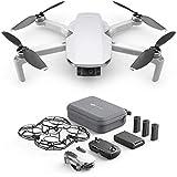 DJI Mavic Mini Combo CP.MA.00000124.01, Dron Ultraligero y Portátil, Duración Batería 30 Minutos, Distancia Transmisión 2 Km,