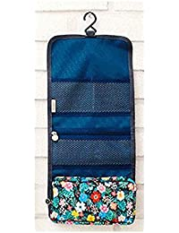LAZYKARTS® 2017 Hot Sale Travel Hanging Toiletry Kits Waterproof Floral Cosmetic Bag Triple Foldable Toiletry...