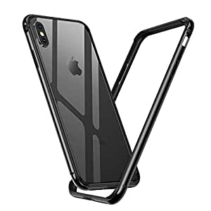 Humixx iPhone X Case, iPhone 10 Case, Lightweight Metal Aluminum Bumper  Frame with Shock-Absorption Inner TPU Protective Case Cover for Apple  iPhone
