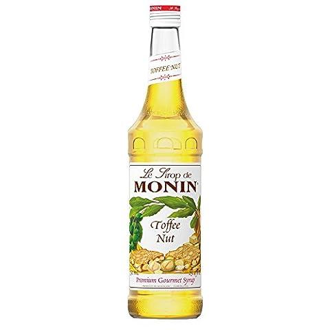 Monin Toffee Nut Syrup 70cl Bottle - Set of 6