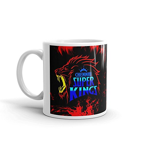 Owncreation Best Team Chennai Super Kings Coffee Mug, Glossy Finish Vibrant Print [400 ml Capacity ] Multicolor