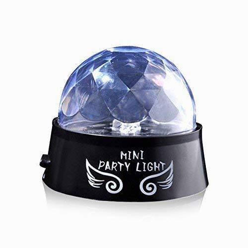 (Hilai batteriebetriebene LED Bühne Lampe LED Nacht Licht Projektor Lampe Kristallkugel für Dekoration Atmosphäre Stimmung Leuchten Club/Party/Geburtstag/Hochzeit/Weihnachten/Halloween/Bühne Farbe zufällig)