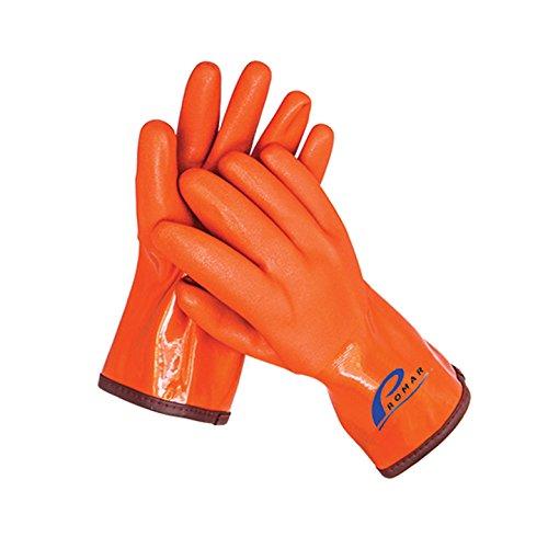 Promar Progrip Isolierter Handschuh, GL-400-L, Orange, Large