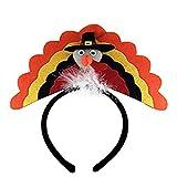 SSUPLYMY Thanksgiving Stirnband Party Zubehör Thanksgiving Dekoration Stirnband Prop Stirnband lustiger Kopfschmuck Home Türkei Stirnband für Thanksgiving Day Party Stirnband