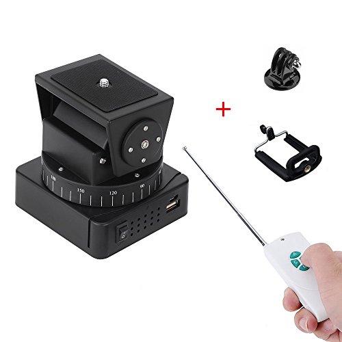 zifon yt-500 fernbedienung schwenk - neige - automatische motor drehen video - stativ kopf max laden 500g mit telefon - inhaber 18650 batterie für iphone 7 / 7 plus / 6 / 6 / 65 plus smartphone gopro (YT-260)