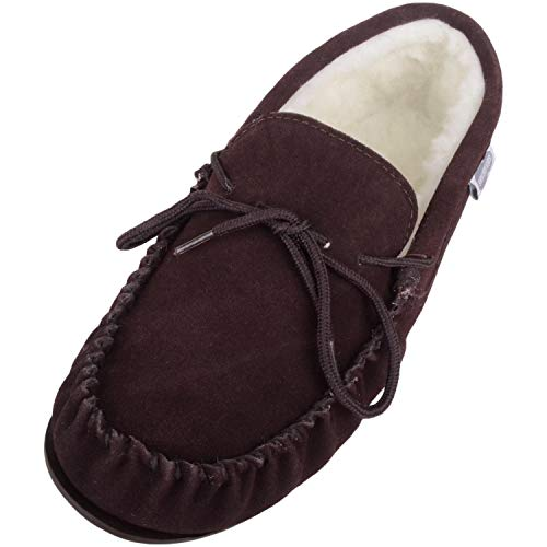 SNUGRUGS , Mocassins pour femme Marron marron - Marron - marron, 6 UK