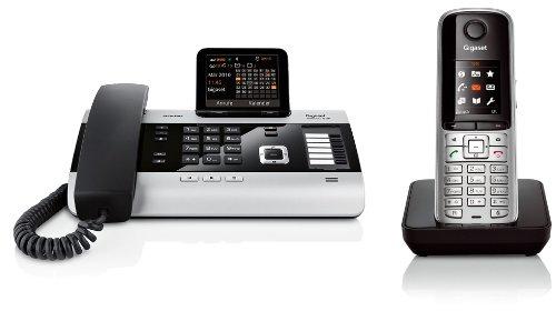 Siemens Gigaset DX600A, SET mit 1x S79H Mobilteil – ISDN, Anrufbeantworter, Bluetooth® ECO DECT