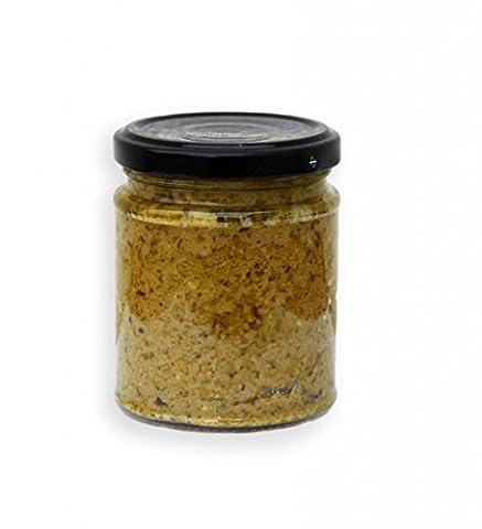 ARISTOS vegane Tapenade Oliven Paste Olivencreme Brotaufstrich aus grünen Chalkidiki Oliven & Mandeln (1x 190g)