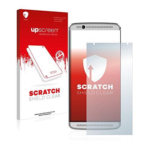 upscreen Scratch Shield Schutzfolie kompatibel mit ZTE Axon 7 Mini - Kristallklar, Kratzschutz, Anti-Fingerprint