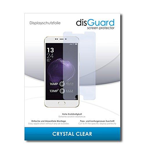 disGuard® Bildschirmschutzfolie [Crystal Clear] kompatibel mit Allview X4 Soul Style [3 Stück] Kristallklar, Transparent, Unsichtbar, Extrem Kratzfest, Anti-Fingerabdruck - Panzerglas Folie, Schutzfolie