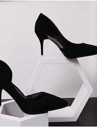 WSS 2016 Chaussures Femme-Mariage / Soirée & Evénement-Noir / Bleu / Rose / Rouge / Argent / Beige-Talon Aiguille-Talons-Talons-PU pink-us5.5 / eu36 / uk3.5 / cn35