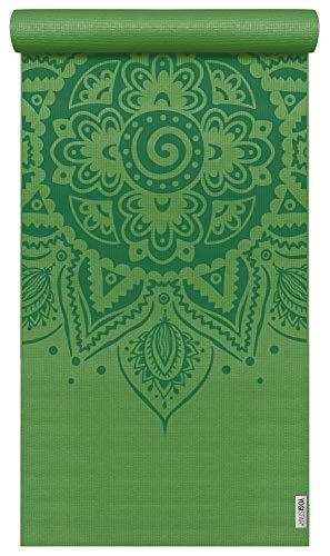 Yogistar Yogamatte Basic Art Collection Spiral Mandala Kiwi