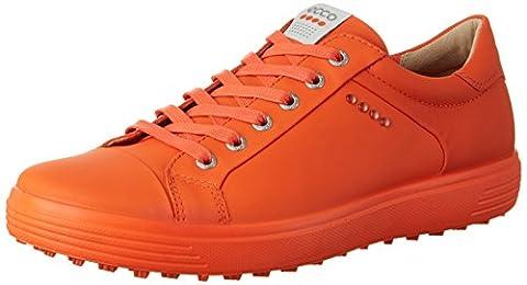 Ecco Men'S Casual Hybrid, Chaussures de Golf Homme, Orange (1604FIRE), 47 EU