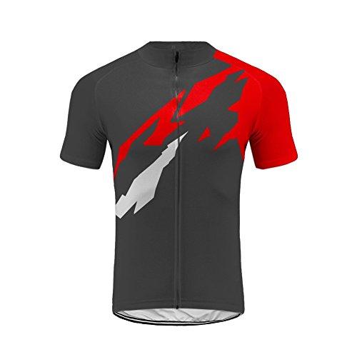 Uglyfrog Männer Radfahren Kurzarm Radfahren Jersey Frühling eine Menge Farben Antislip Ärmel Cuff Road Bike MTB Top Riding Shirt