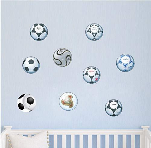 Fußball Fußball Wandaufkleber Für Kinderzimmer Schlafzimmer Wohnzimmer Kühlschrank Computer Wandtattoos Jungen Geschenk -