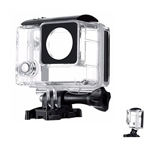 SHOOT 30M Transparent Schützende Wasserdichte Tauchen Ersatz Gehäuse Case Shell für GoPro Hero 3+/4 Mit LCD-Bildschirm Kamera Zubehör 4 Lcd-bildschirm-ersatz