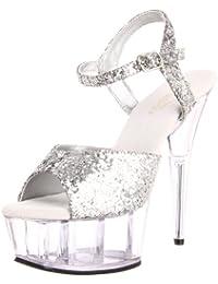 Pleaser DELIGHT-609 8441 - Sandalias de vestir para mujer