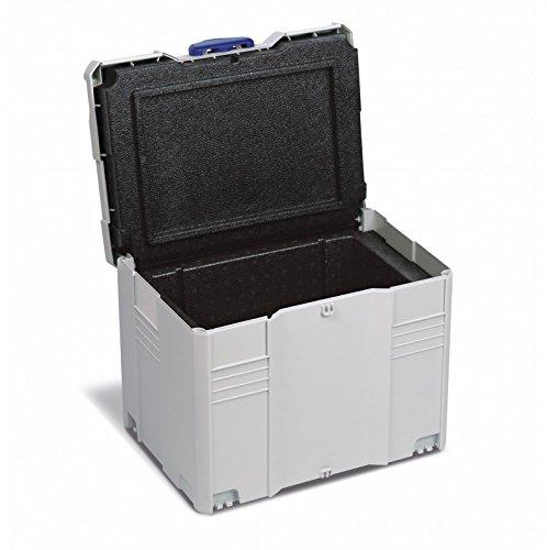 Preisvergleich Produktbild TANOS Isolier-systainer® T-loc IV Kühlbox Thermobox lichtgrau 80590409