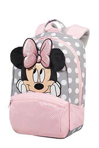 SAMSONITE Disney Ultimate 2.0 - Backpack Small+ Mochila Infantil, 34 cm, 11.5 Liters, (Minnie Glitter)