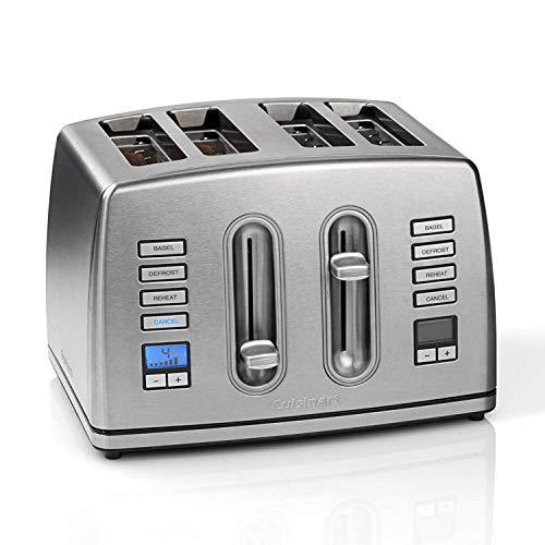 Cuisinart CPT445U 4 tranches en acier inoxydable brossé Grille-pain numérique