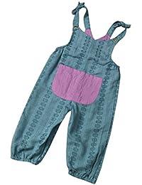 Vestidos Bebé,Switchali Recién nacidoInfantil Bebé Nina Chicas Correa Mameluco moda Romper linda verano sin mangas Mono ninas Pantalones harem Ropa