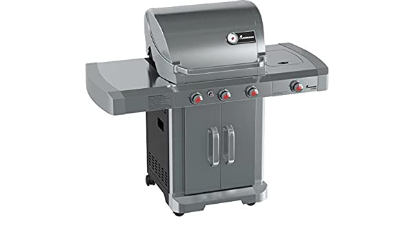 Landmann Gasgrill New Avalon : Landmann gasgrill avalon pts grill edelstahl grau amazon