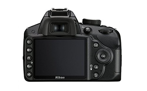 Nikon D3200 24.2 MP Digital SLR Camera (Black) with AF-S 18-55mm VR II Kit Lens, 8GB Memory Card, DSLR Camera Bag