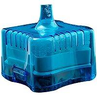 Mini Ronda Tienda Fish Tank Súper neumático Bioquímica casa de Acuario Filtro de carbón Activado Regard