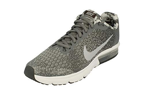 best website a4730 e9e76 Nike Air MAX Sequent 2 Bg, Zapatillas para Hombre, (Cool Wolf Dark Grey