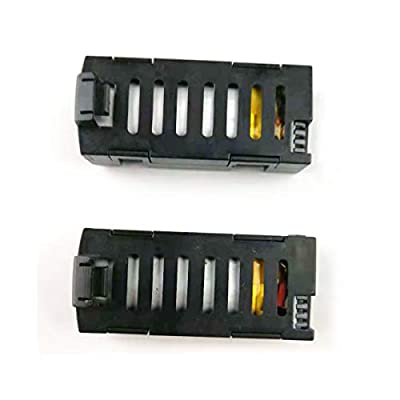 boboo 2Pcs 3.7V 500mAh Battery For S15 RC Quadcopter Drone With 2 In 2 Battery Charger