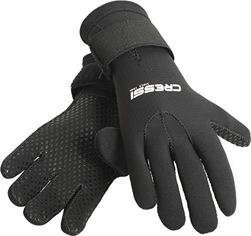 guanti neoprene Cressi Black Gloves Resilient