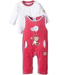 Julius Hüpeden 205270 - Peto para niñas, color rosa (raspberry 182043), talla 50/62/Recién nacido/56/1 Mes/62/3 meses