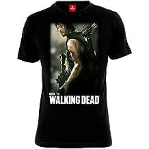 The Walking Dead Daryl Hunter Camiseta Negro S