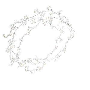 Haarschmuck, Künstliche Perlenkopf-Haarkette, Brautstirnband-Hochzeitszubehör, Frauenschmuck