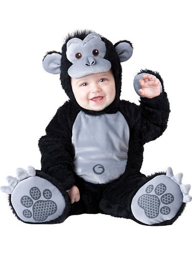 Goofy Gorilla Infant Toddler Costume Medium 12-18 Months Goofy Gorilla