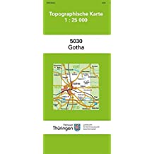 Landkreis Gotha Karte.Suchergebnis Auf Amazon De Fur Stadtplan Gotha