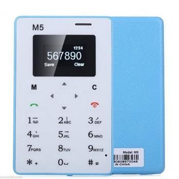 Captcha M5 Mini Card Cell Phones Ultra Thin (credit Card Size)