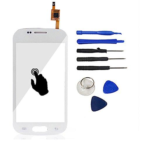 White Color With Tools Touch Screen Digitizer Glass