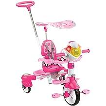VTech - Triciclo Inteligente Evolutivo 4 en 1 Tek-Trike, color rosa (80-196857)