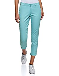 Amazon.fr   Turquoise - Pantalons   Femme   Vêtements f8d06bd8303
