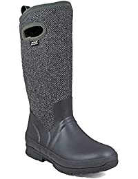 Bogs North Hampton Solid Tall Rain Boots Women Black 43 2016 Gummistiefel