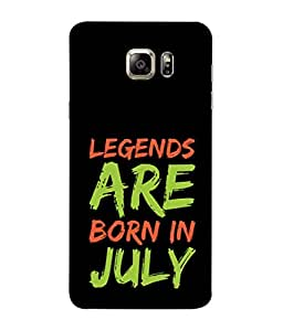 PrintVisa Designer Back Case Cover for Samsung Galaxy S6 G920I :: Samsung Galaxy S6 G9200 G9208 G9208/Ss G9209 G920A G920F G920Fd G920S G920T (Spritual Motivation Word Theme Atitude Month July)
