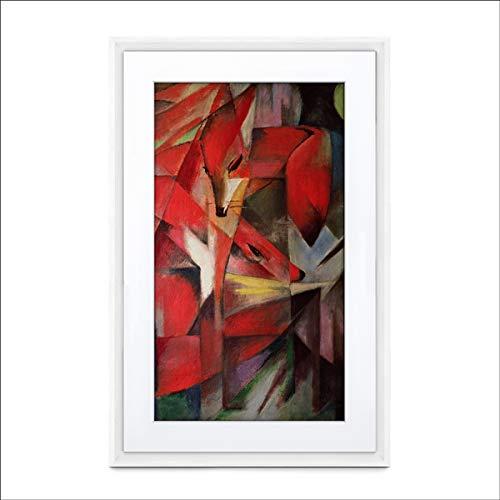 MEURAL Canvas II MC321WL Smart Art Digitale HD-Leinwand 41 x 61 cm (Weißer Rahmen, 21,5 Zoll, Gemälde und Fotografien werden in naturgetreuen Details wiedergegegeben, WLAN mit App, von Netgear)