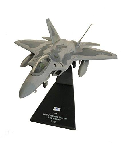 lockheed-martin-f-22-raptor-diecast-1100-model-amercom-sl-40