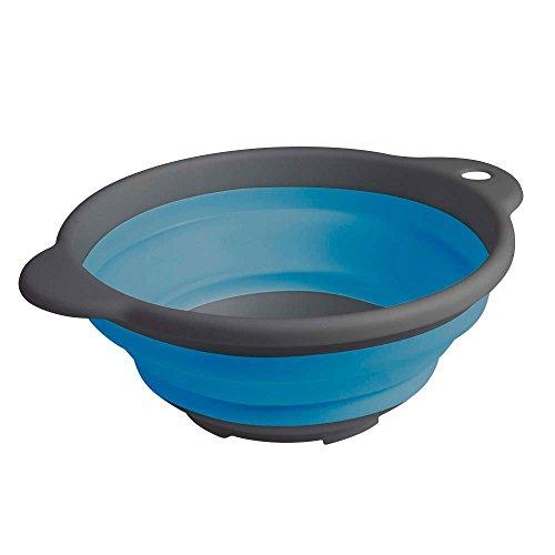 AiO-S OK Sp/ülsch/üssel Tischsch/üssel Campingsch/üssel klappbar faltbar Faltbox blau