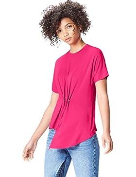 FIND Camiseta Drapeada Para Mujer