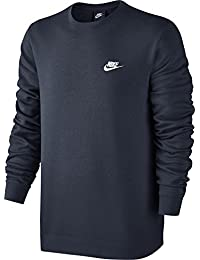 1710e2f004a7 Nike M NSW CRW FT Club Sweat à Manches Longues pour Homme