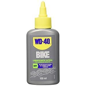 4193 dNvL7L. SS300 WD-40 Bike - Lubrificante Catena Bici e MTB per Condizioni Asciutte e Polverose Formula con PTFE - 100 ml