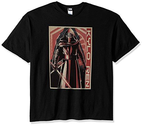 Star Wars Herren T-Shirt Dark Villain - Schwarz - 5X-Groß